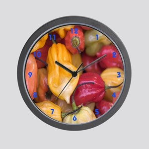 Hot Stuff/Peppercorns Wall Clock