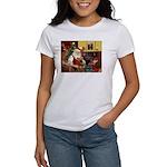 Santas Airedale Women's T-Shirt