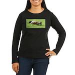 Schoonover Farm Women's Long Sleeve Dark T-Shirt