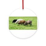 Schoonover Farm Ornament (Round)