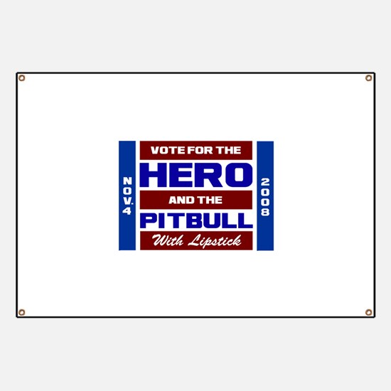 Hero & The Pitbull Banner