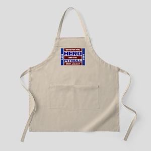 Hero & The Pitbull BBQ Apron
