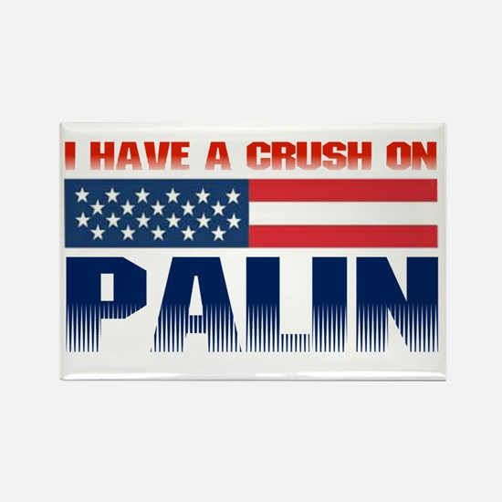 Crush on Palin Rectangle Magnet