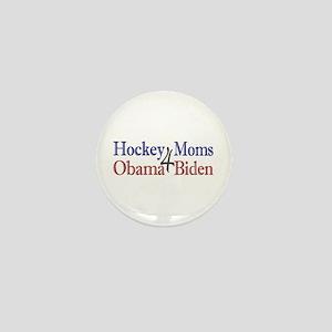 Hockey Moms 4 Obama Biden Mini Button