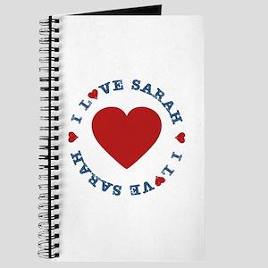 I Love Heart Sarah, Palin Journal