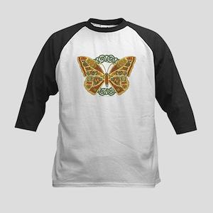 Celtic Butterfly Kids Baseball Jersey