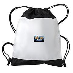 Inked Radio Drawstring Bag