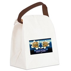 Inked Radio Canvas Lunch Bag