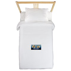 Inked Radio Twin Duvet Cover
