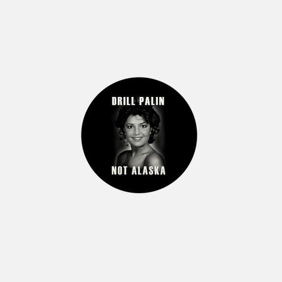 Unique Palin lipstick hockey mom Mini Button
