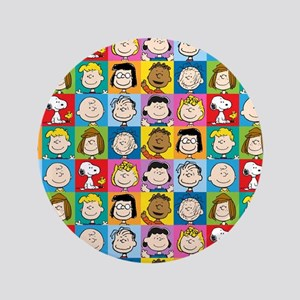 "Peanuts Back to School 3.5"" Button"