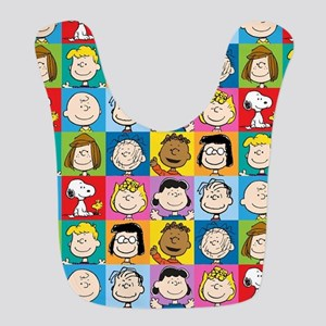 Peanuts Back to School Polyester Baby Bib