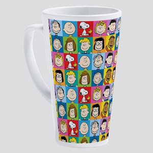 Peanuts Back to School 17 oz Latte Mug