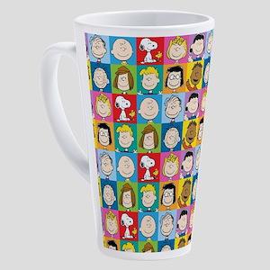 Peanuts Back to School 17 oz Latte Mug