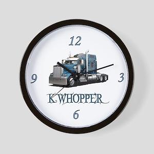 K Whopper Wall Clock