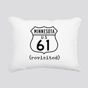 61 Revisited Rectangular Canvas Pillow