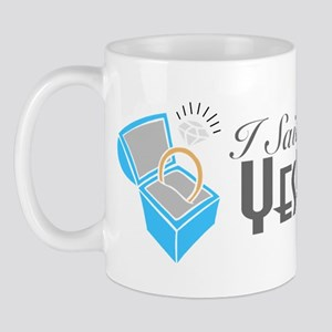I Said Yes! (Ring Box) Mug