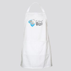 I Said Yes! (Ring Box) BBQ Apron