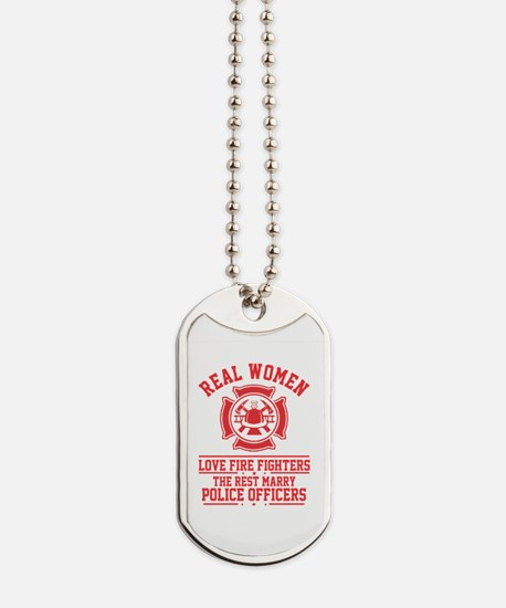 Unique Girl fire Dog Tags