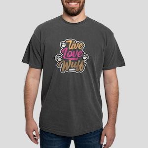 Dog Lover Live Love Wuff Animal Lover Birt T-Shirt