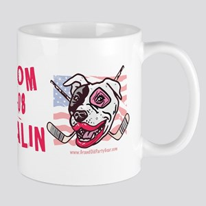 Hockey Moms Palin Pink Mug