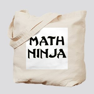 Math Ninja Tote Bag