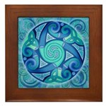 Celtic Planet Framed Tile