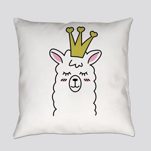Llama Lama Alpaca Llama Queen Everyday Pillow