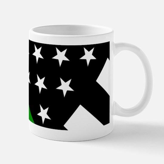 U.S. Flag: Thin Green Line Mug
