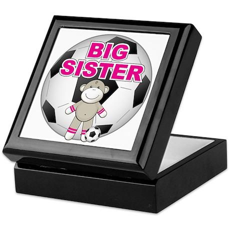 Big Sister Soccer Keepsake Box