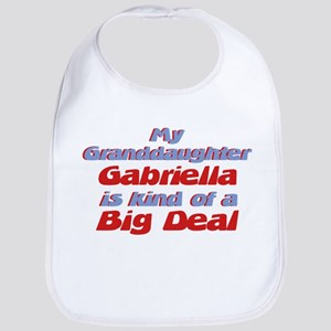 Granddaughter Gabriella - Big Bib