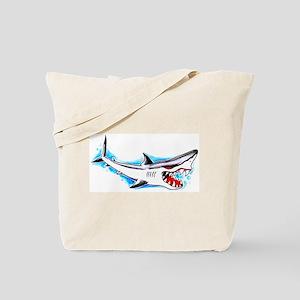 Shark Tattoo Art Tote Bag
