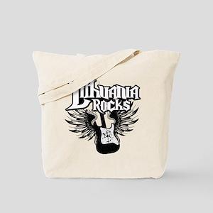 Lithuania Rocks Tote Bag
