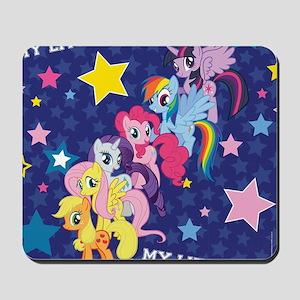 MLP: Mane Six Stars Mousepad