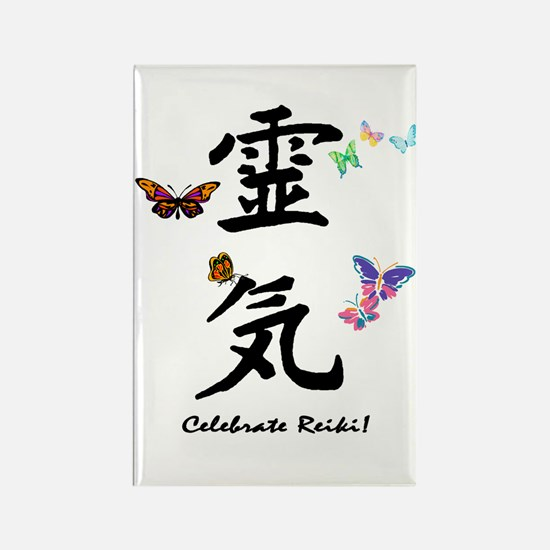 Celebrate Reiki! Rectangle Magnet