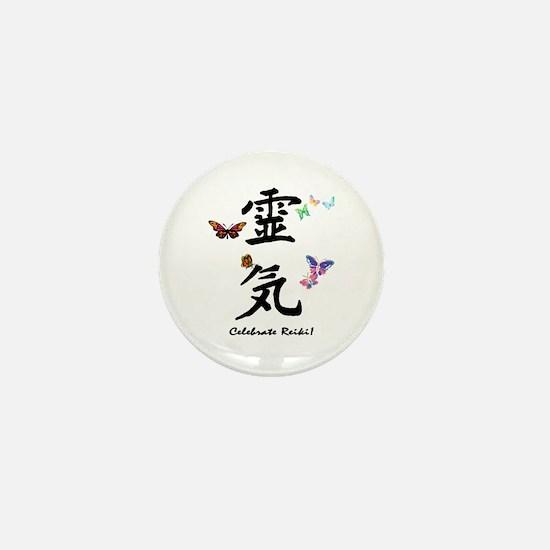 Celebrate Reiki! Mini Button