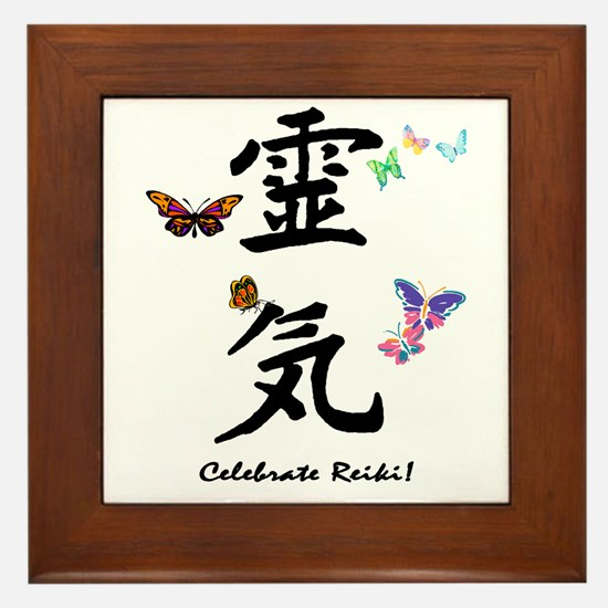 Celebrate Reiki! Framed Tile