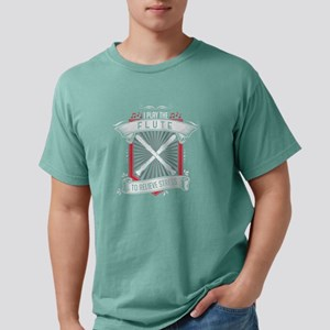 I Play Flute To Relieve Stress Flute Playe T-Shirt