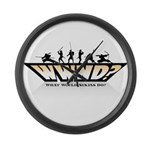 WHAT WOULD NINJAS DO? Large Wall Clock