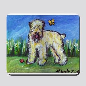 Wheatie eyes butterfly Mousepad