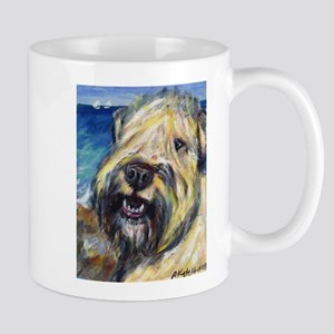 Laughing wheatie portrait Mug