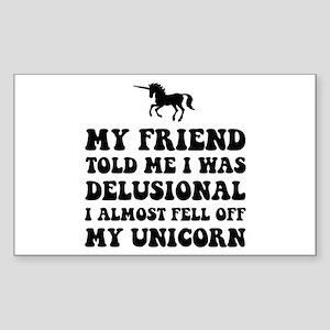 Delusional Unicorn Sticker