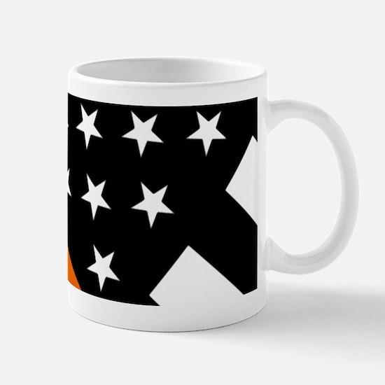 U.S. Flag: The Thin Orange Line Mug