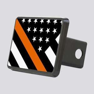 U.S. Flag: The Thin Orange Rectangular Hitch Cover