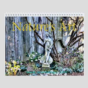 Nature's Art Wall Calendar