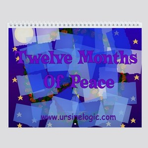 Peace Signs Wall Calendar