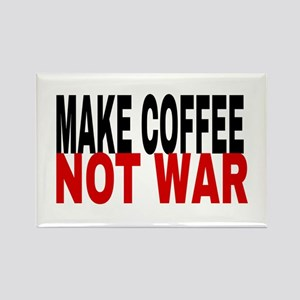 Make Coffee Not War Magnets