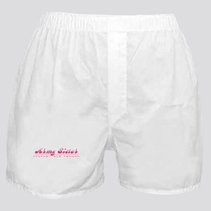 Army Sister - Girly Style Boxer Shorts