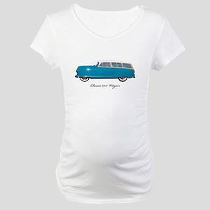 1951 Nash Wagon Maternity T-Shirt
