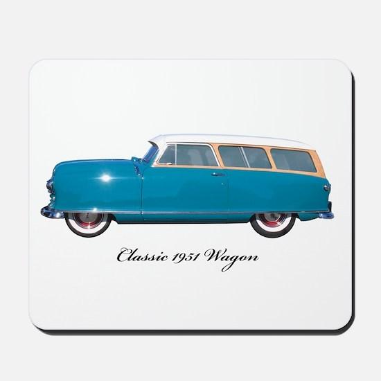 1951 Nash Wagon Mousepad